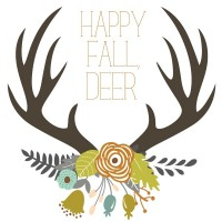 Fall Deer Printable